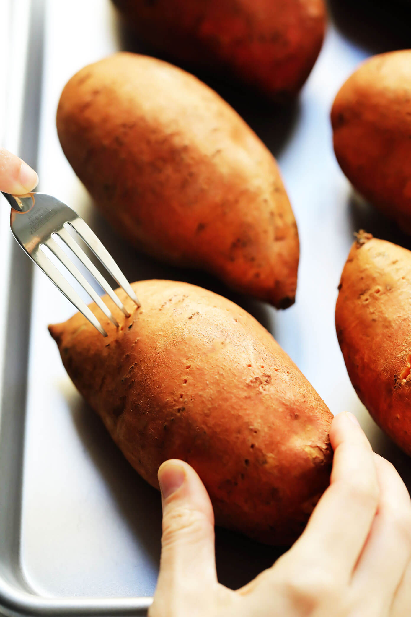 Poke Sweet Potatoes Before Baking