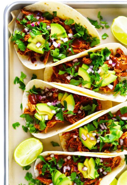 Mole Chicken Tacos