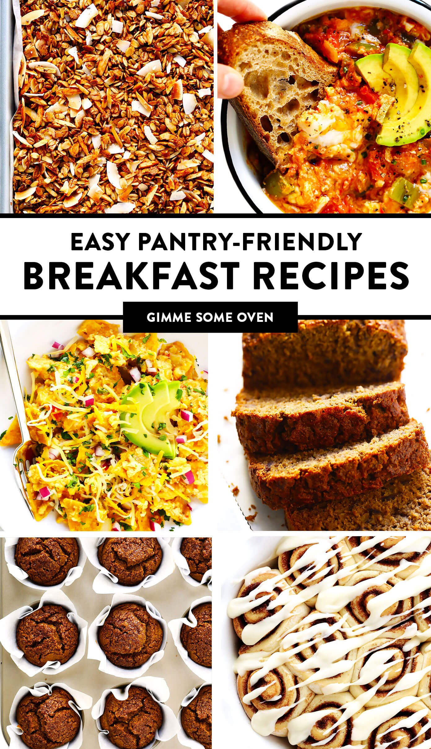 Easy Pantry-Friendly Breakfast Recipes