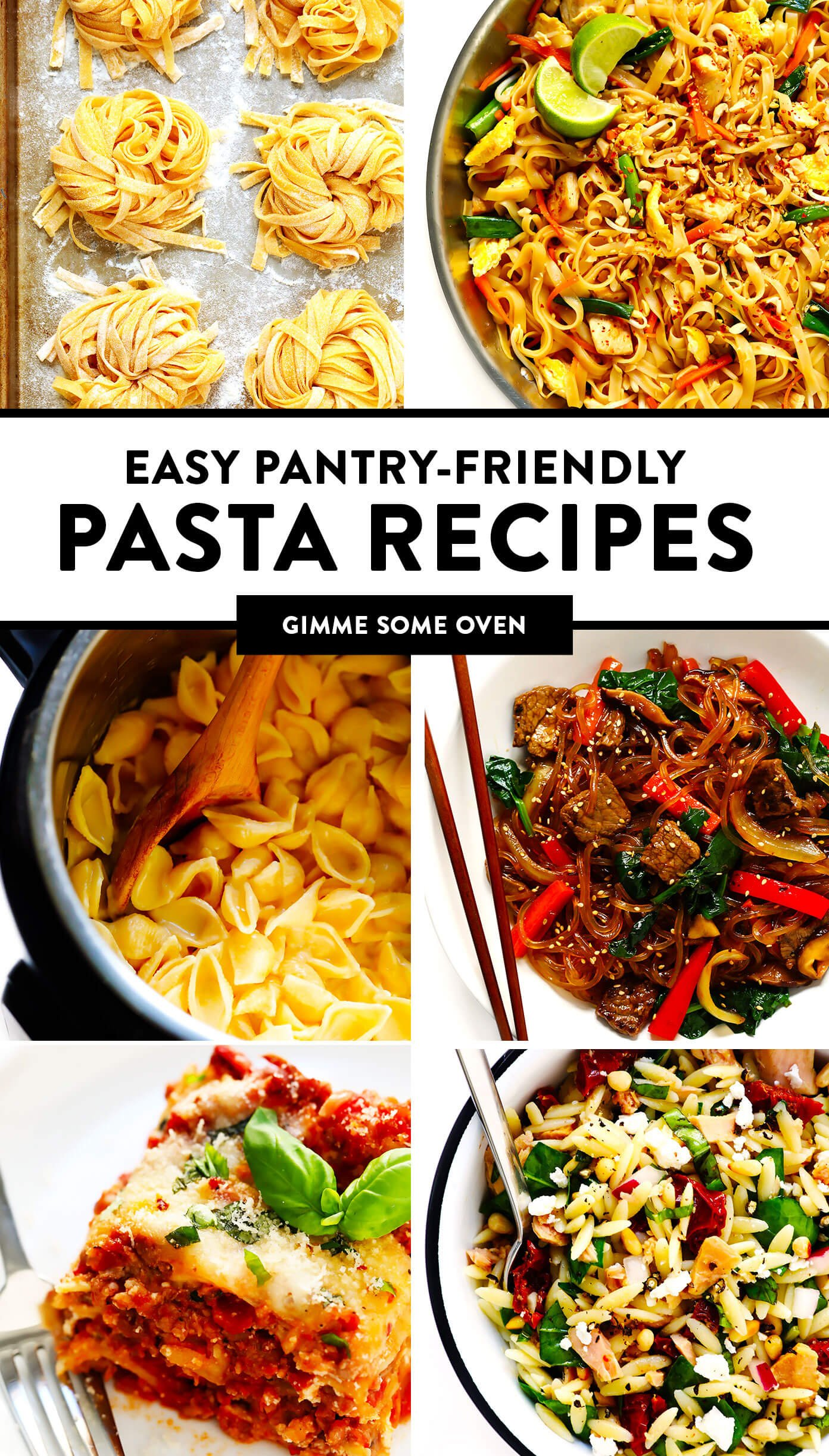 Easy Pantry-Friendly Pasta Recipes