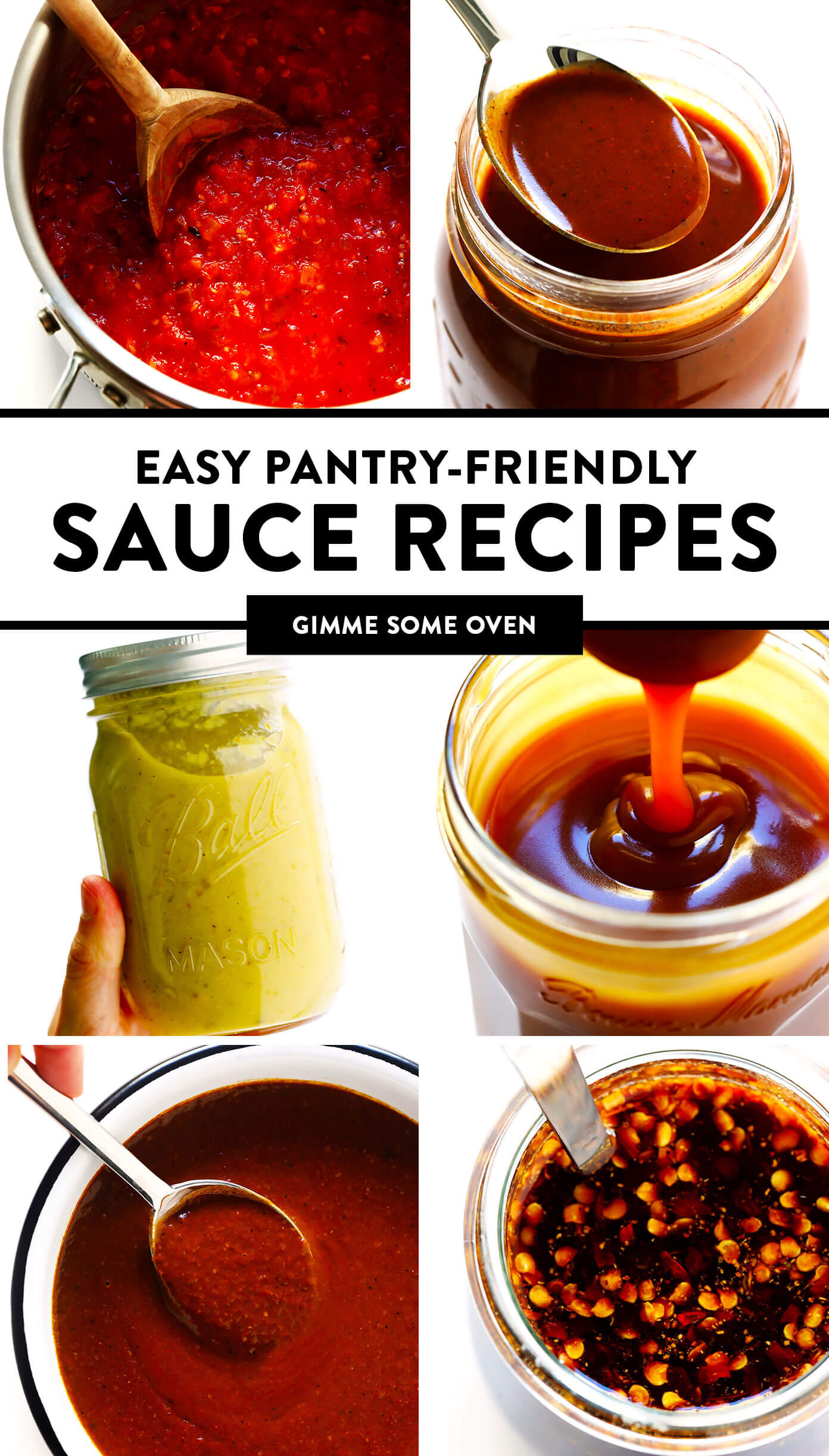 Easy Pantry-Friendly Sauce Recipes