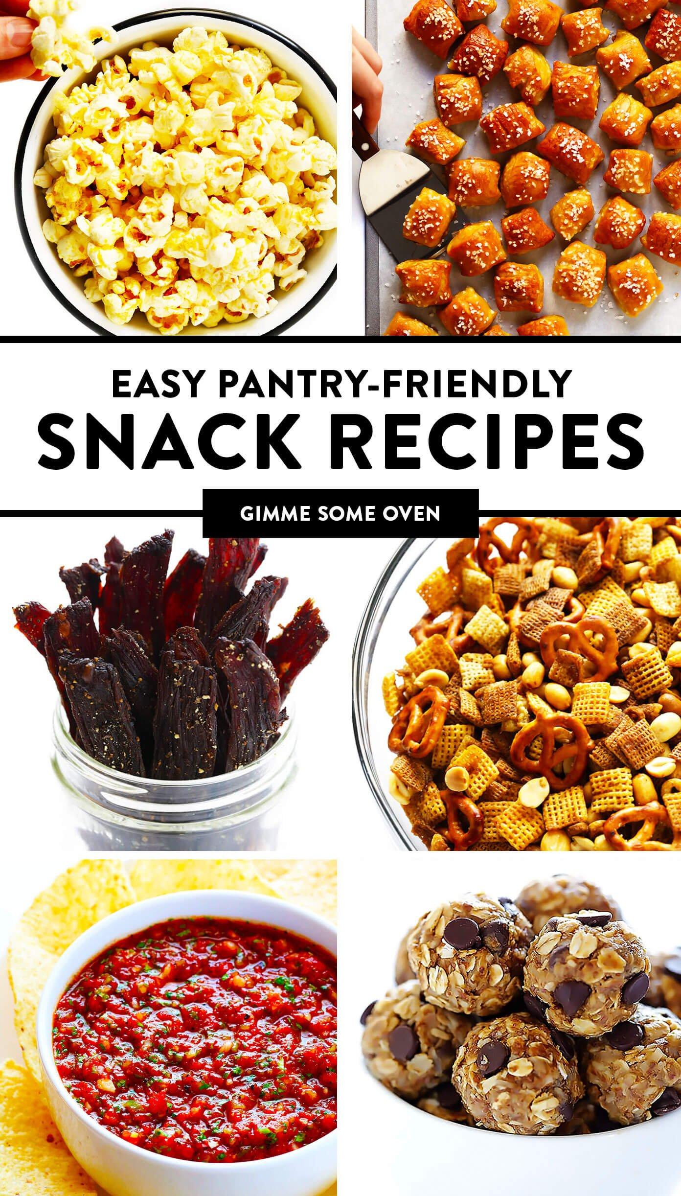 Pantry-Friendly Snack Recipes