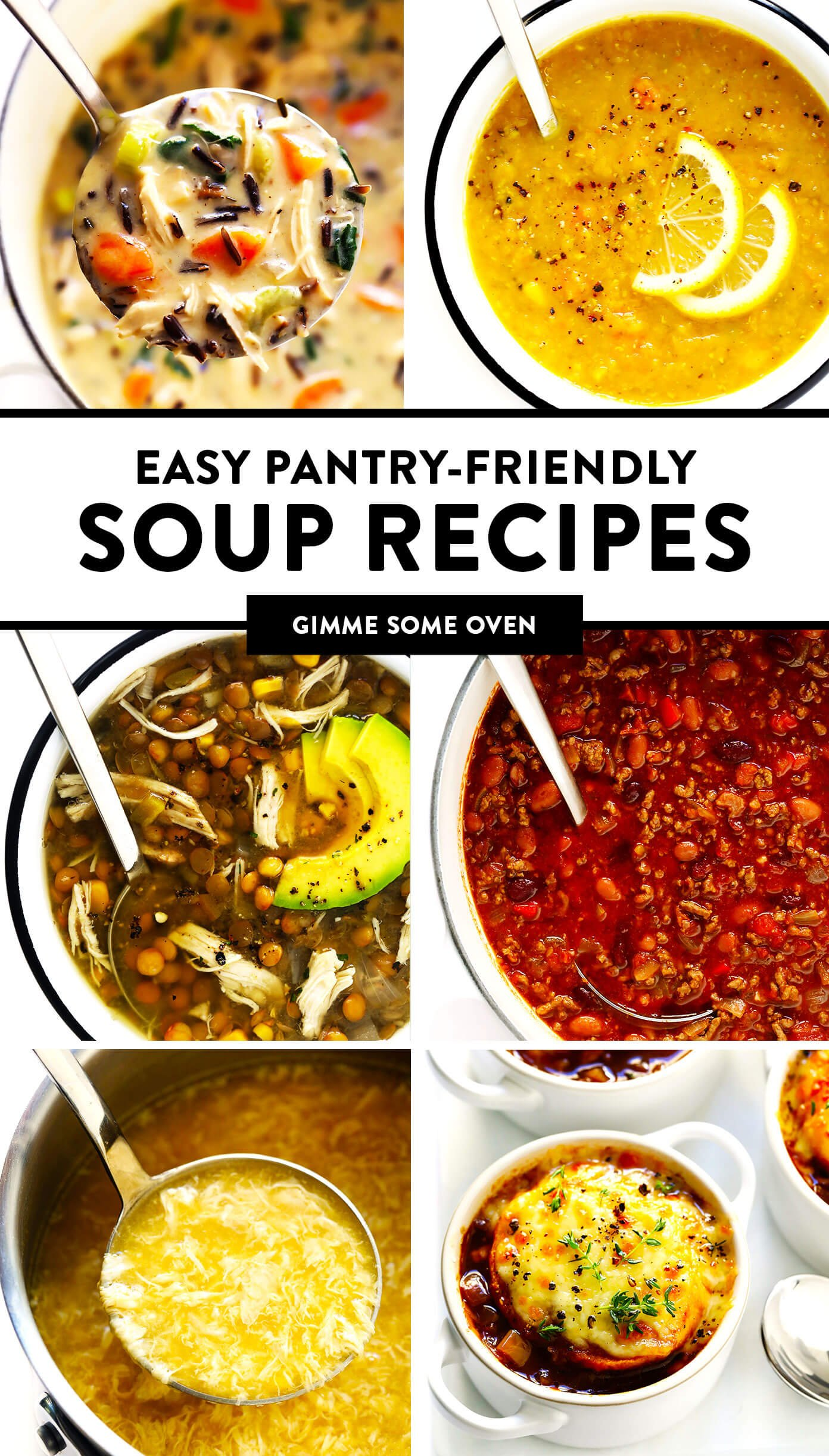 Easy Pantry-Friendly Soup Recipes