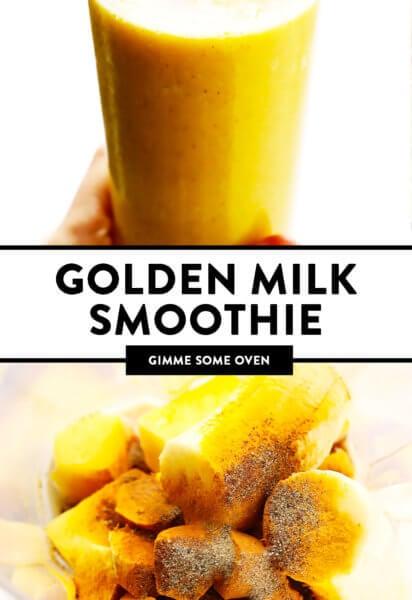 Golden Milk Smoothie