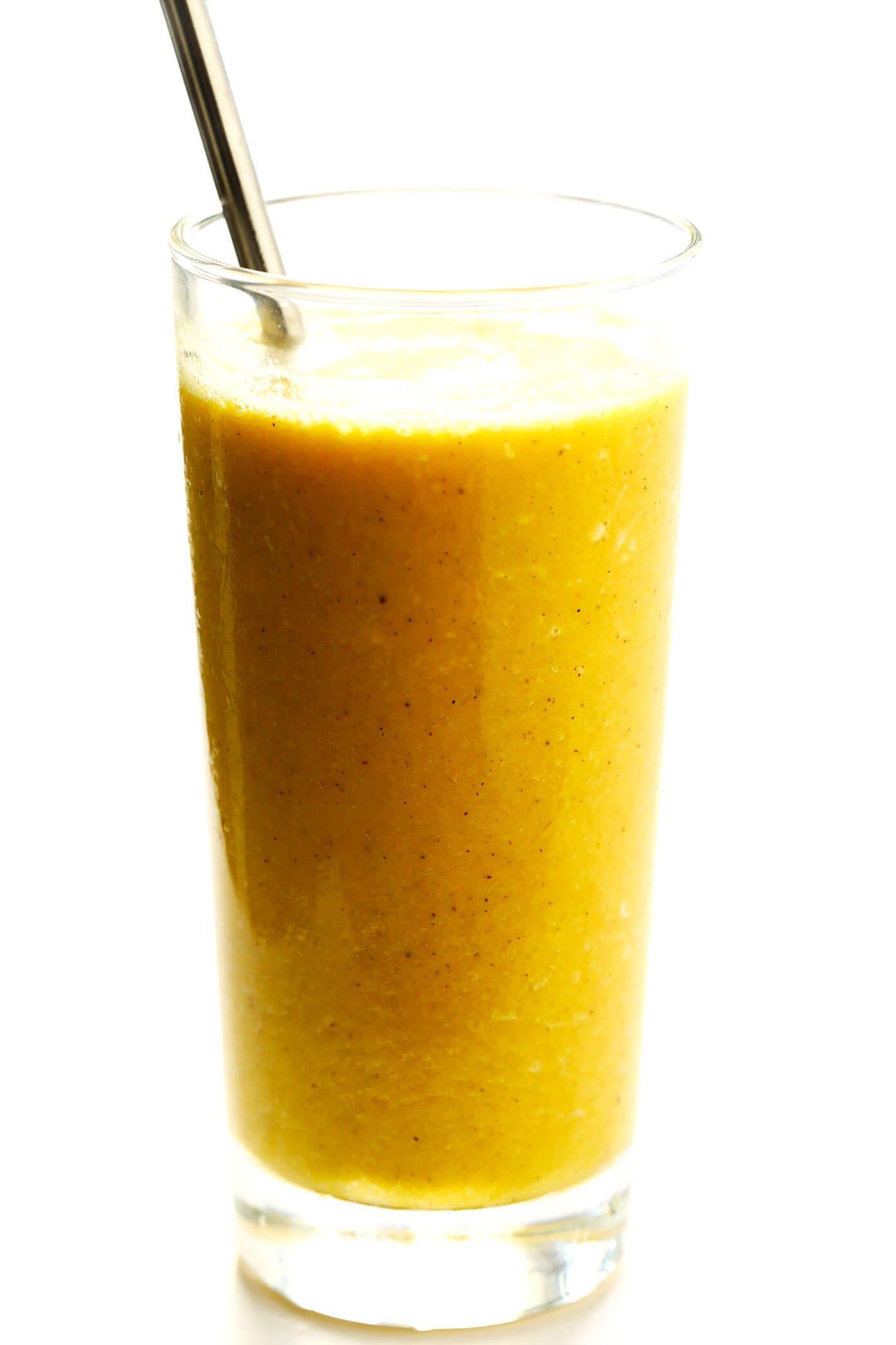 Golden Milk Healthy Smoothie Recipe