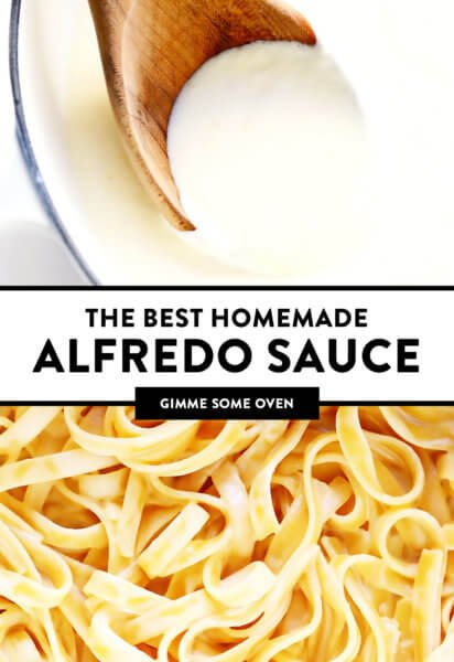 Best Homemade Alfredo Sauce Recipe