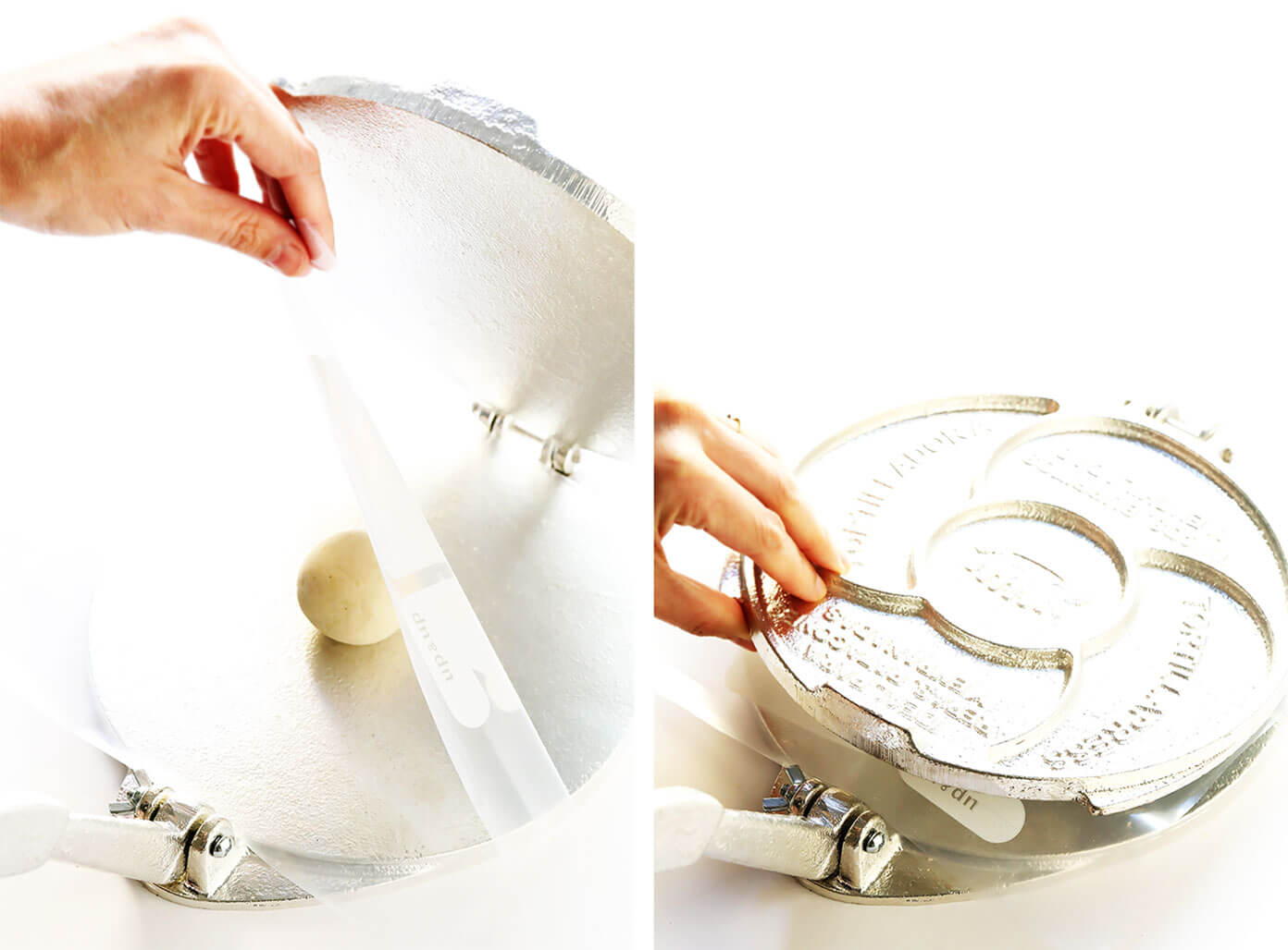 How To Use A Tortilla Press