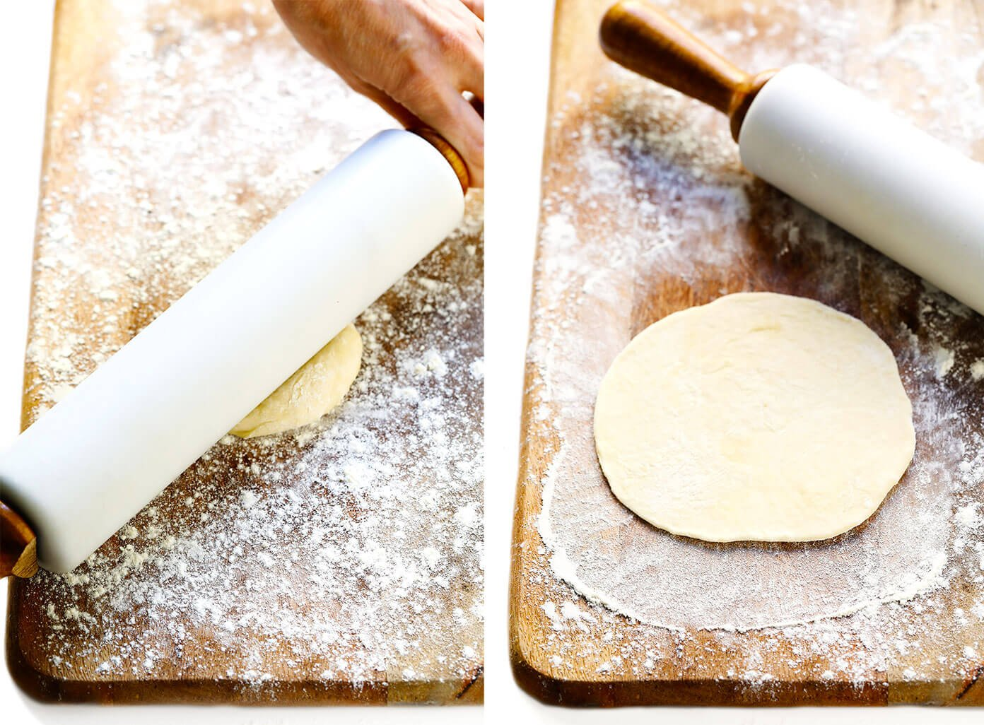 How To Roll Tortillas (without a Tortilla Press)
