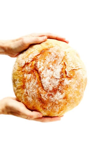 Homemade No Knead Bread Recipe
