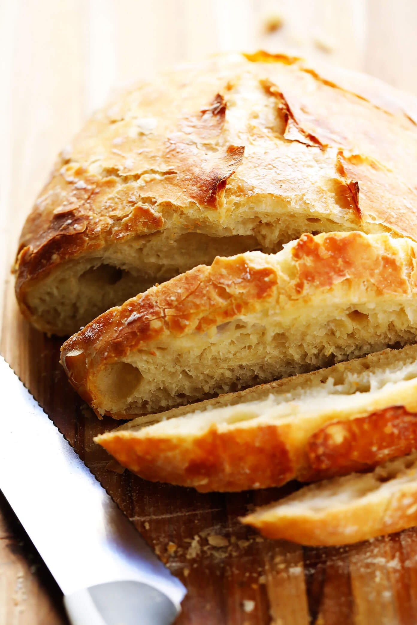 Homemade Crusty Bread Recipe