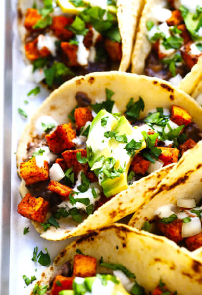 Roasted Sweet Potato Tacos