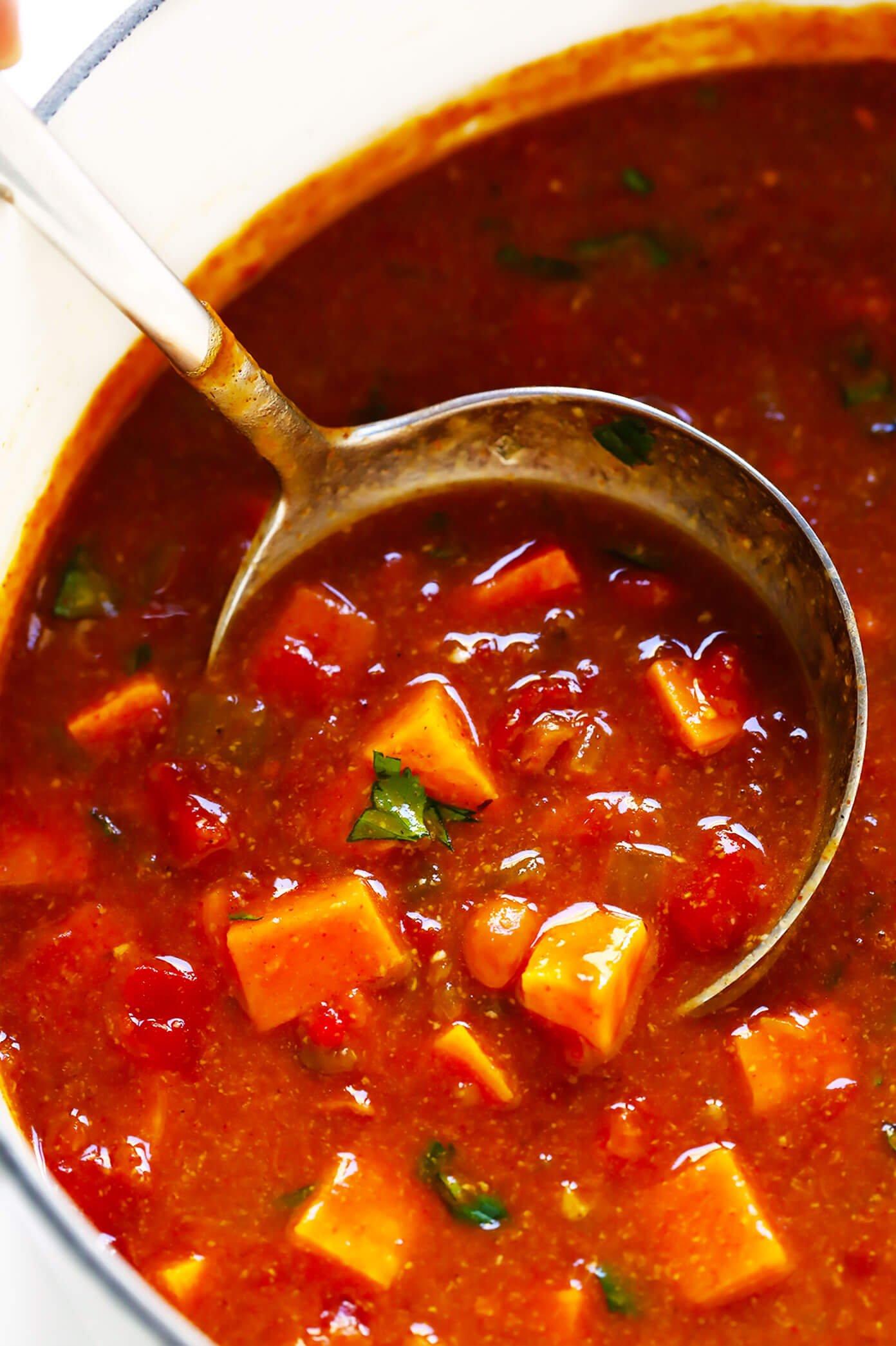 Sweet Potato Enchilada Soup Recipe