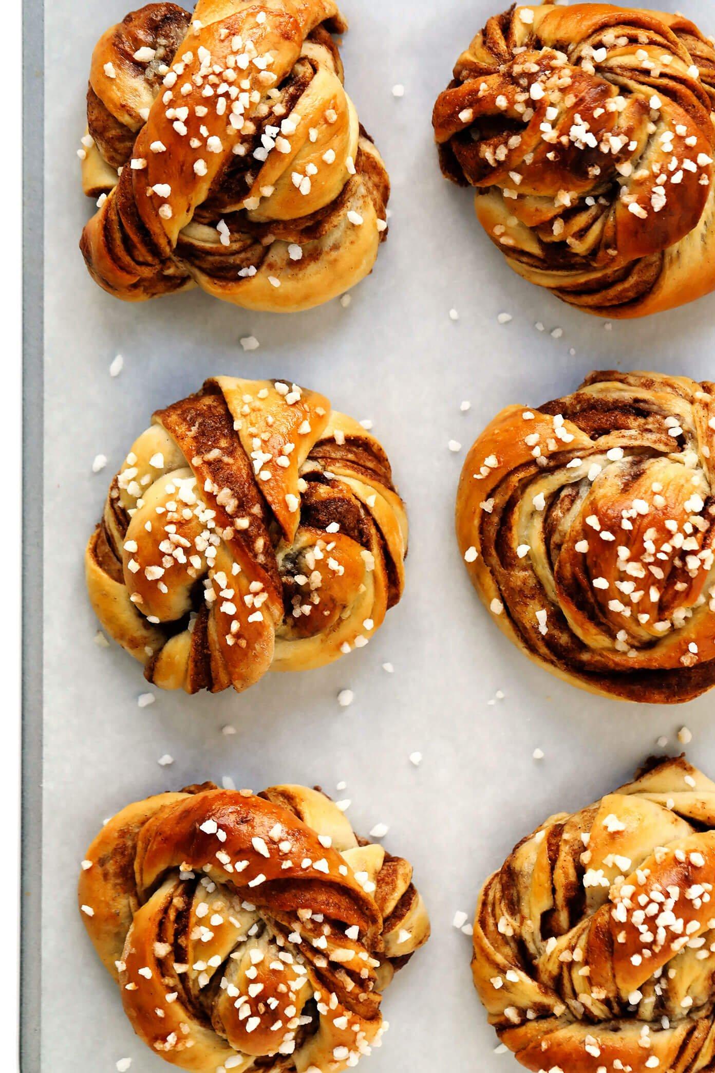 Swedish Cinnamon Roll Recipe (with Pearl Sugar)