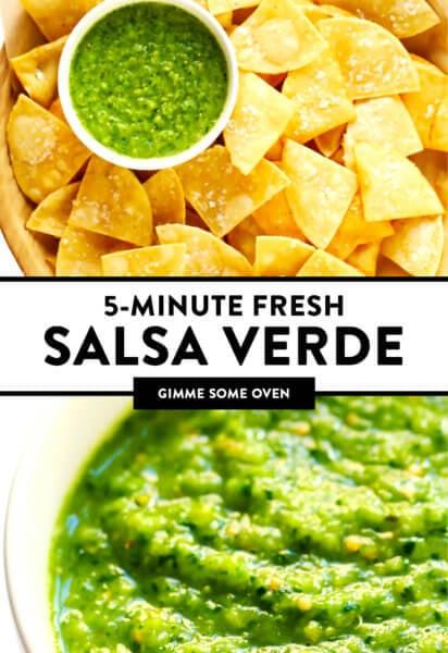 Receita de Salsa Verde Fresca | Me dê algum forno 2
