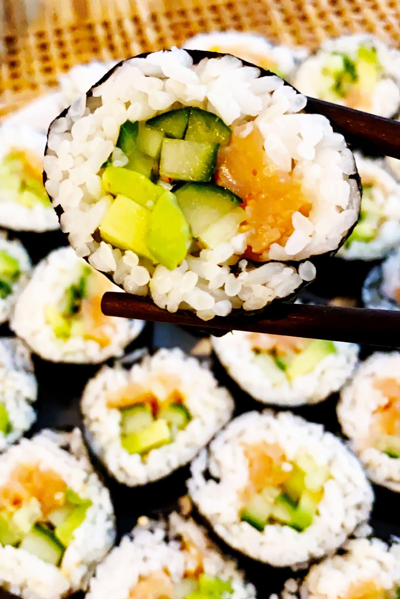 Rolos Maki DIY para Sushi aos Domingos