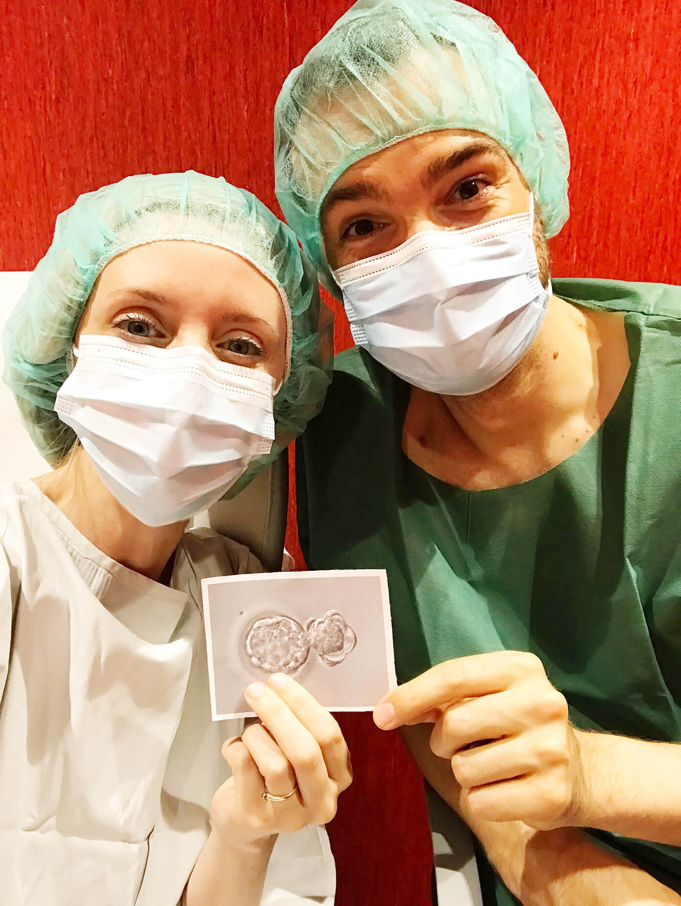 Ali and Barclay's IVF Embryo Transfer