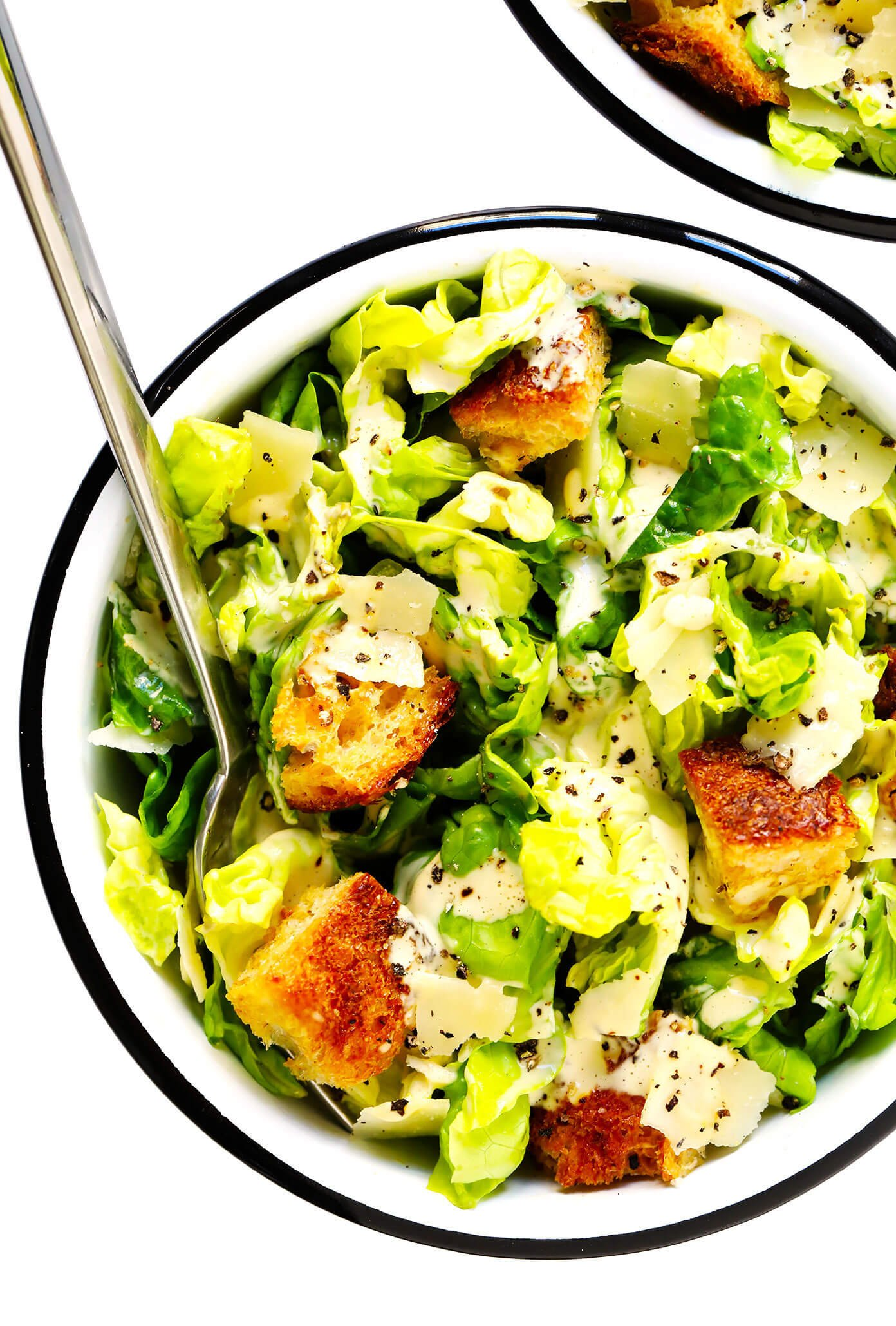 Caesar Salad Recipe List