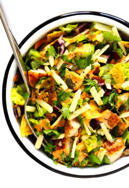Chipotle Cheddar Chopped Salad Recipe