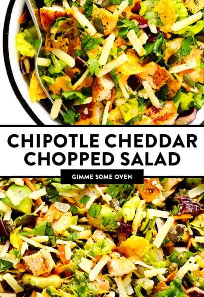 Salada Picada Cheddar com Chipotle   Me dê algum forno 2