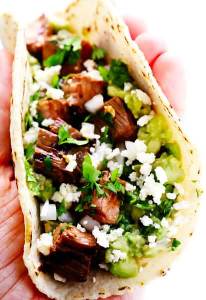 Street Style Carne Asada Taco