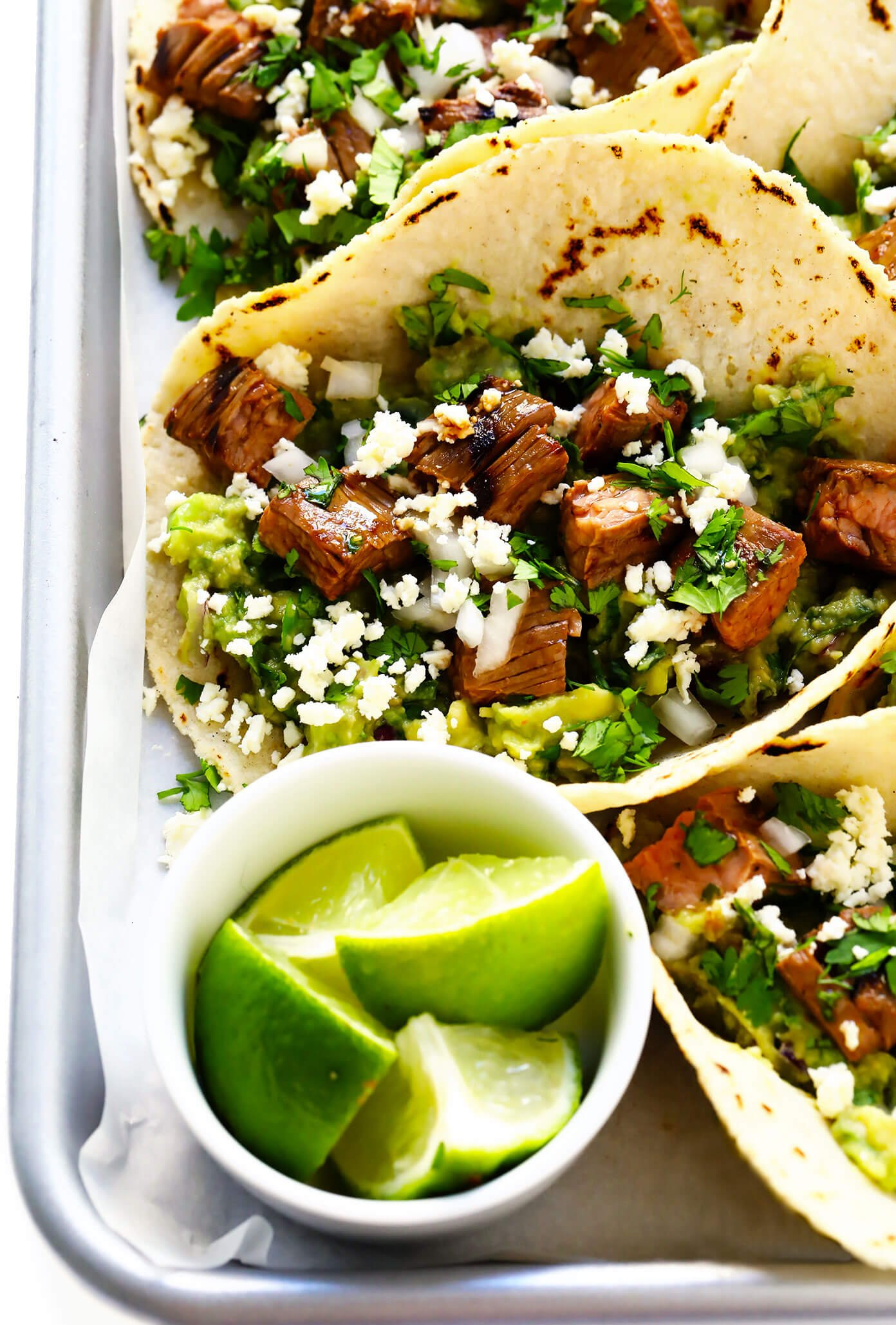 Carne Asada Tacos with Lime