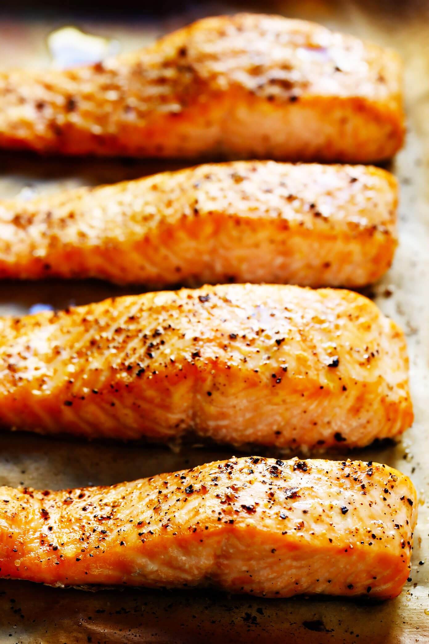 Baked Salmon Filets