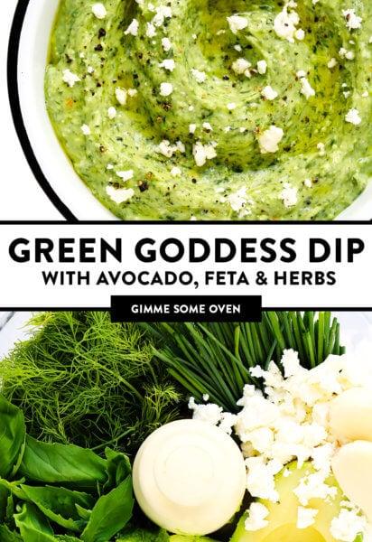Green Goddess Feta Dip | Me dê um pouco de forno 2