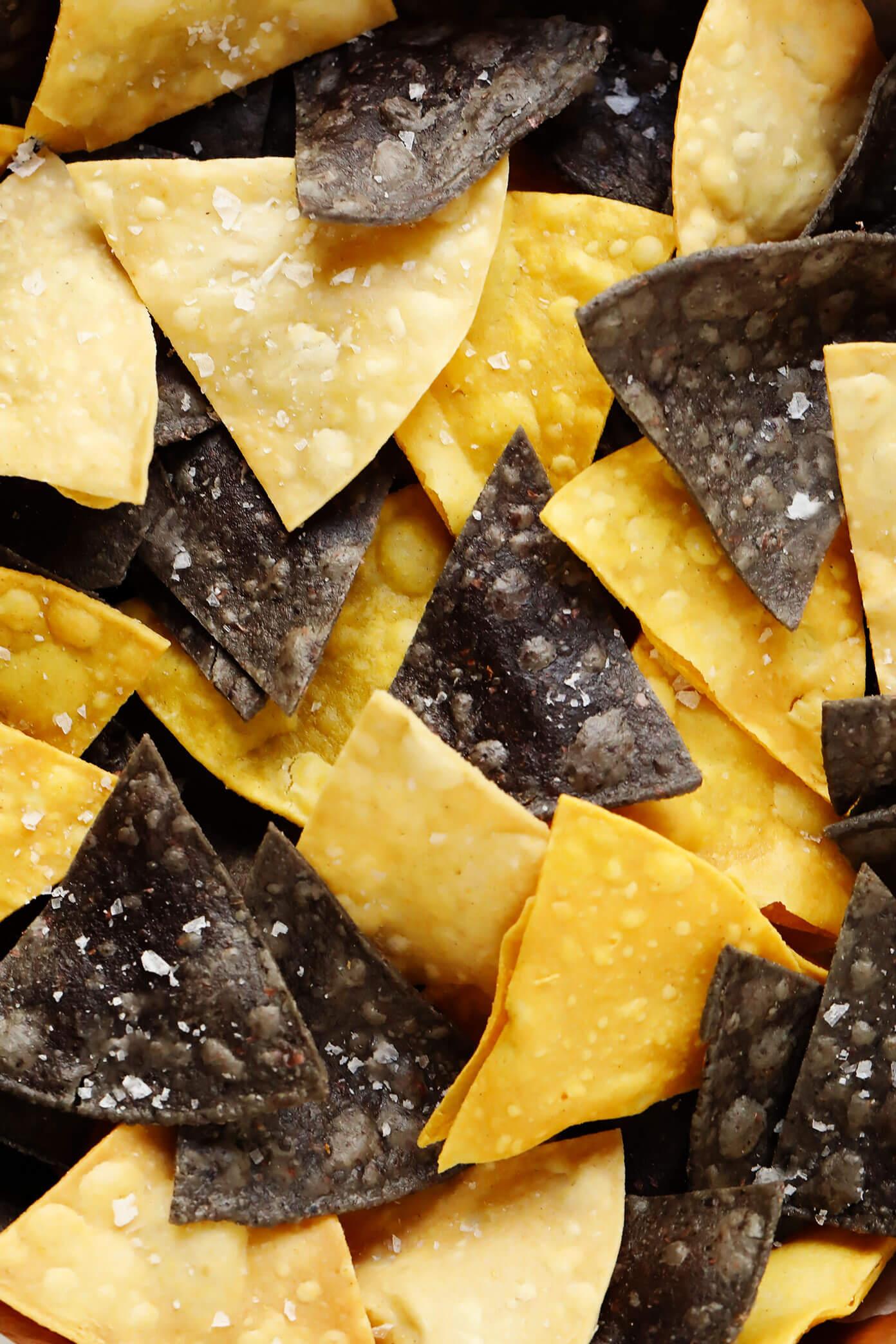 Chips de Tortilla de Milho Tricolor