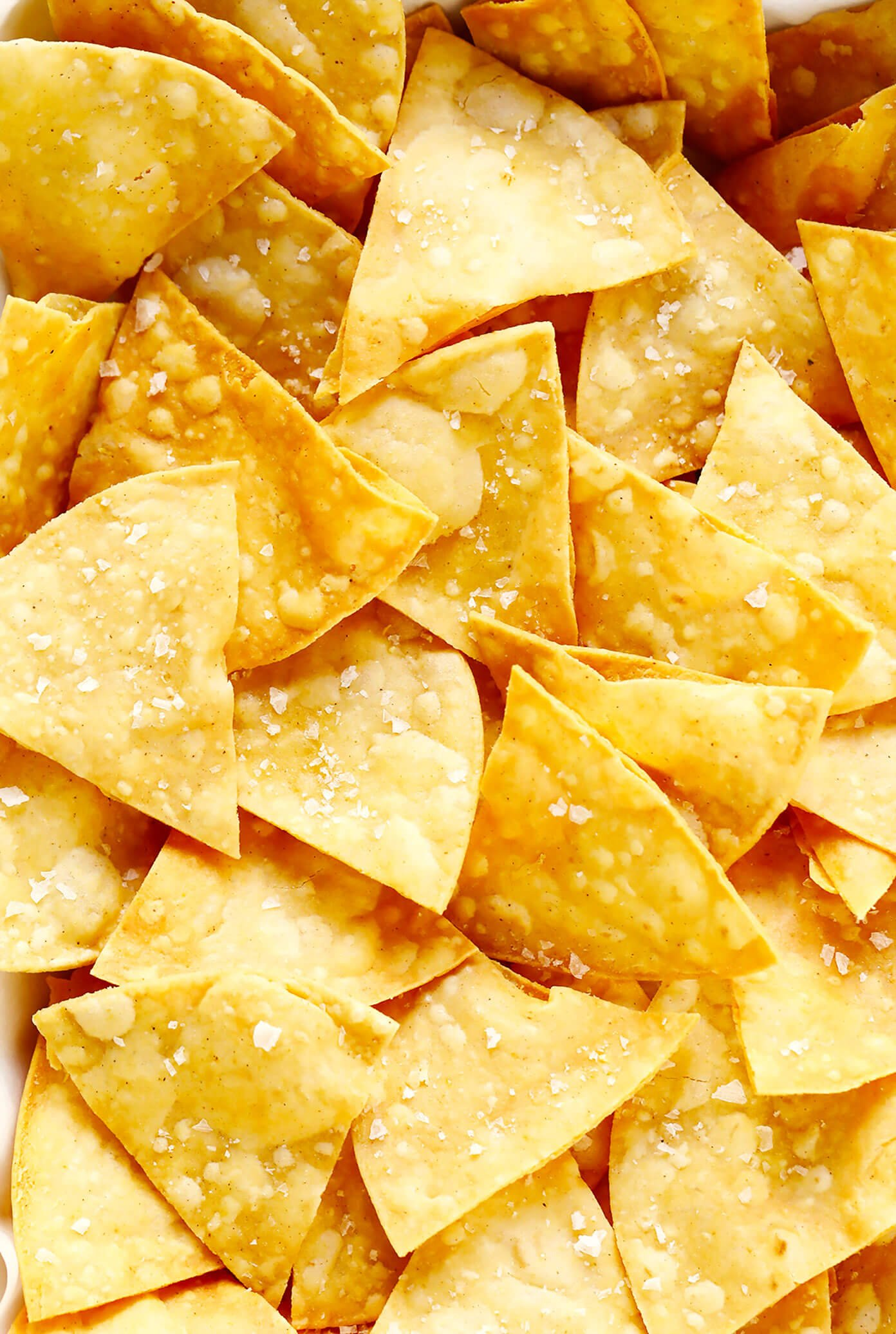 Homemade Tortilla Chips Recipe Gimme Some Oven