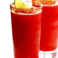 Watermelon Lime Mocktails