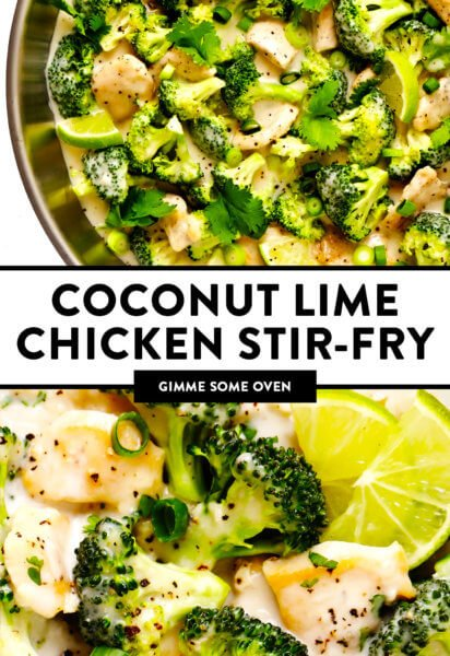 Coconut Lime Chicken Stir-Fry