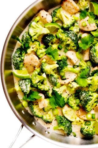 Coconut Lime Chicken and Broccoli Recipe