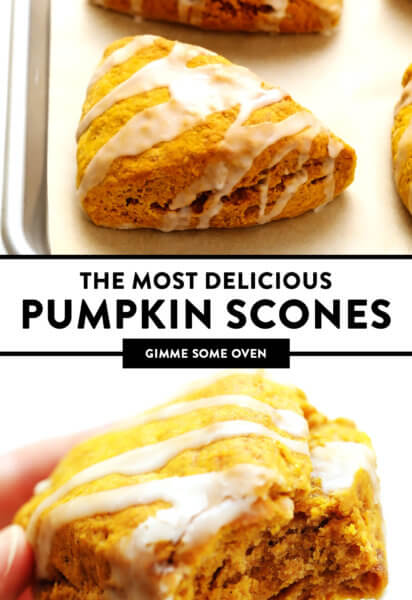 The Most Delicious Pumpkin Scones