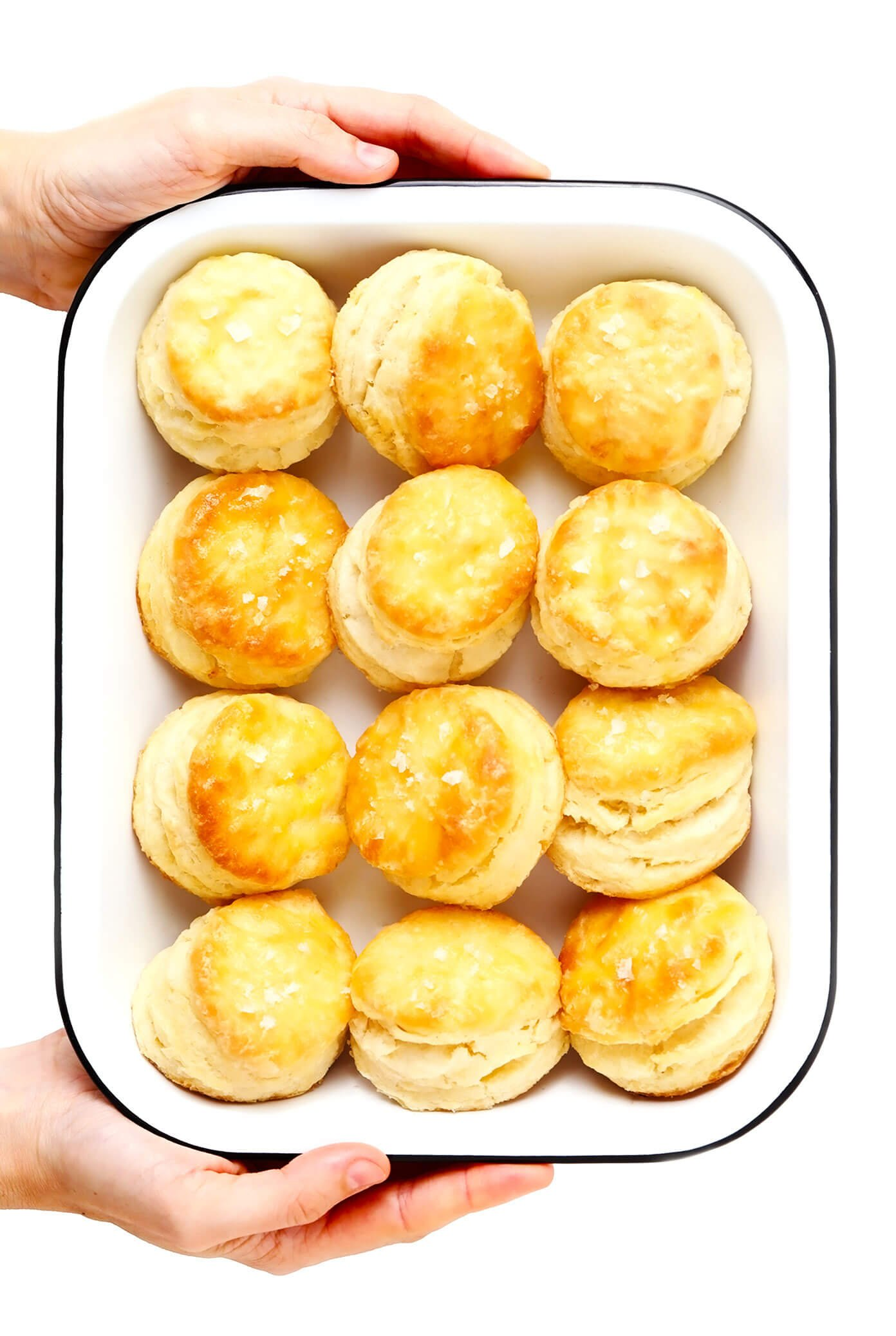 Homemade Biscuits in Pan