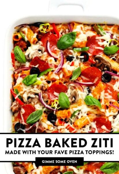 Pizza Ziti Assada