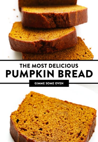 The Most Delicious Pumpkin Bread