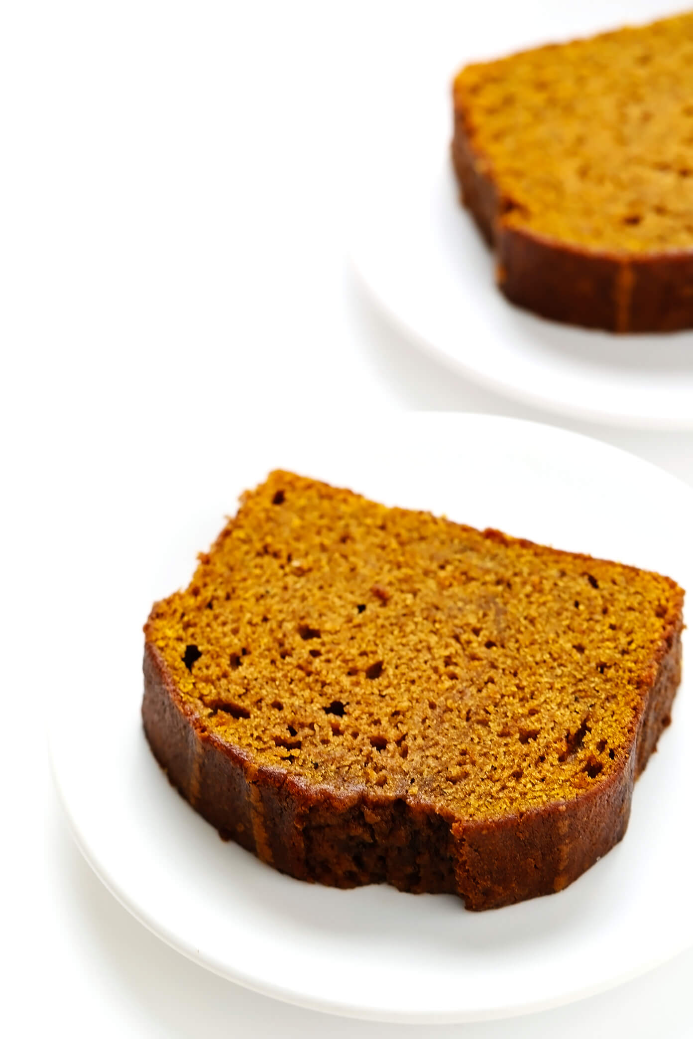 Individual Slices of Pumpkin Bread