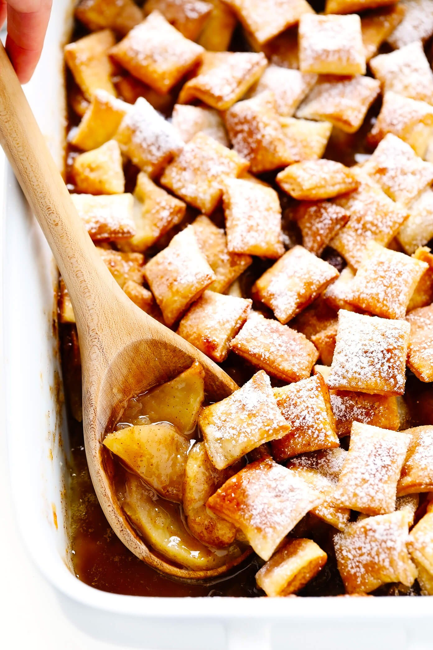 Apple Pandowdy with Puff Pastry