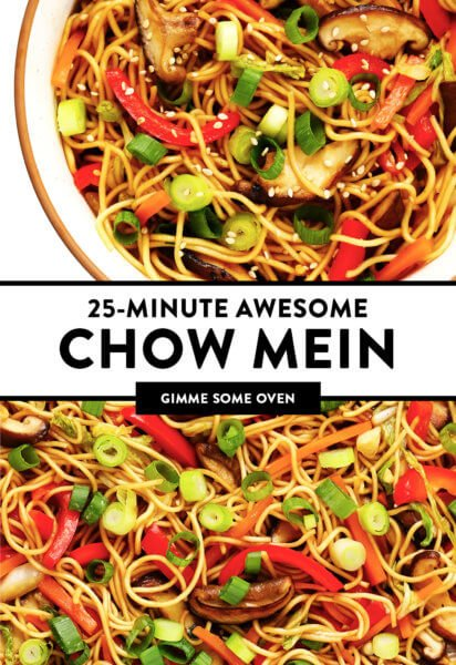 25-Minute Awesome Chow Mein