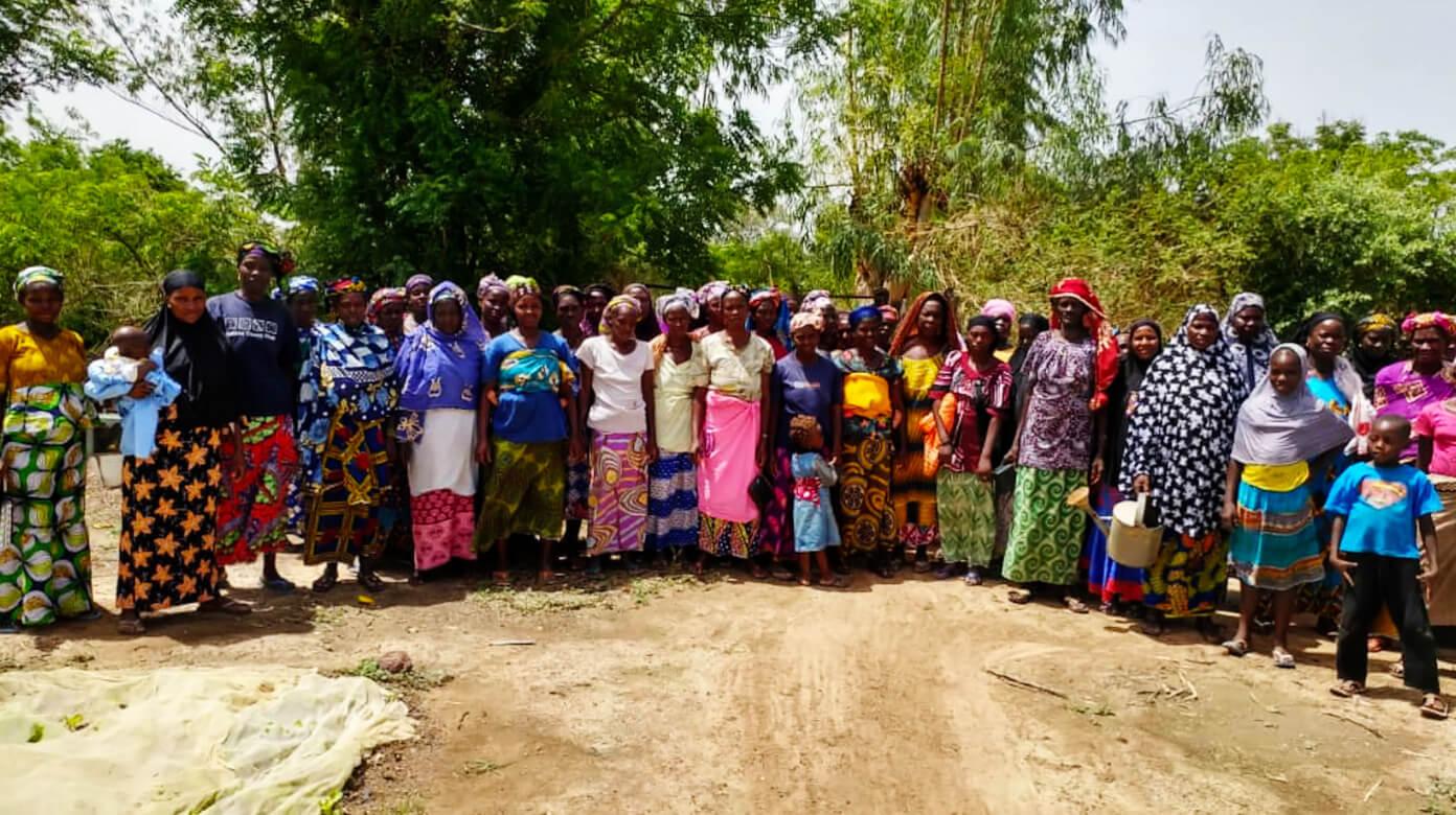 Women gardeners in Mali