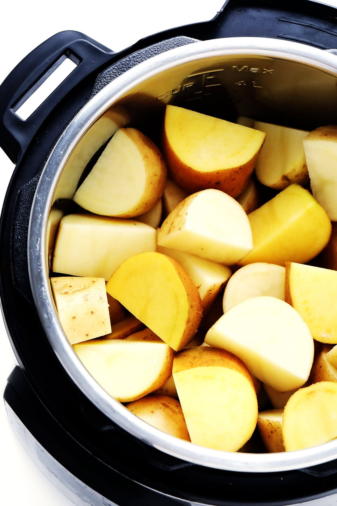 Yukon Gold and Russet Potatoes In The Instant Pot