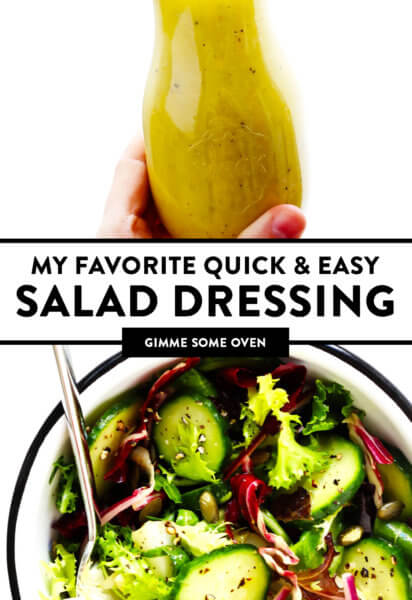 My Favorite Quick and Easy Salad Dressing
