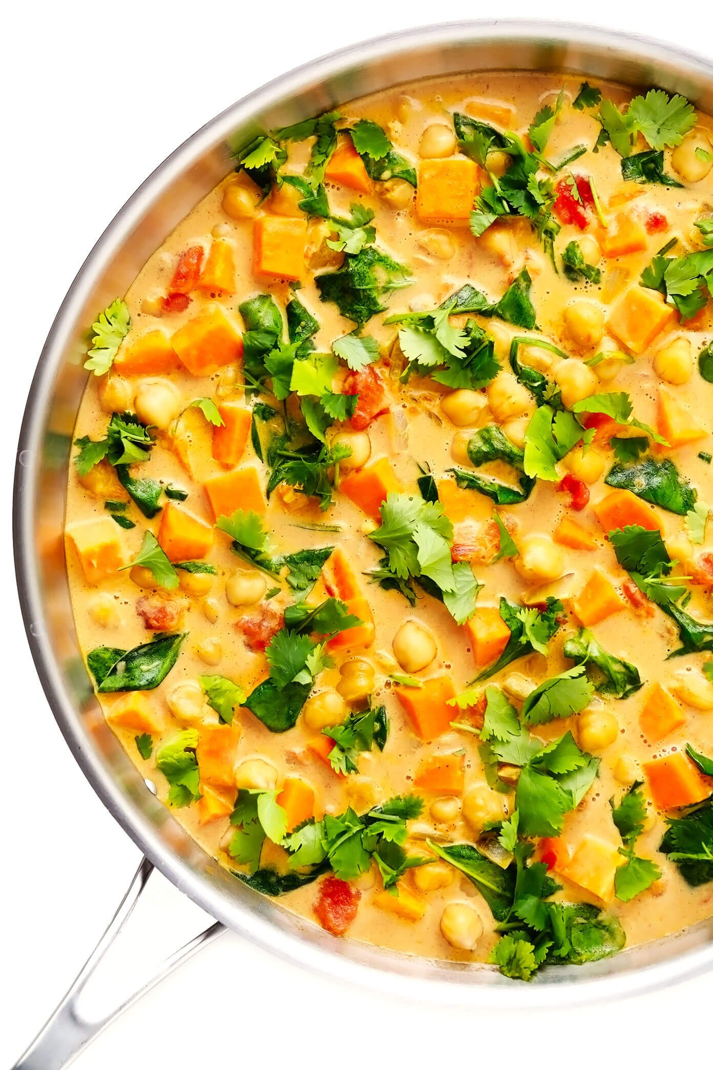 Sweet Potato Chickpea Coconut Curry Favorite Family Recipes