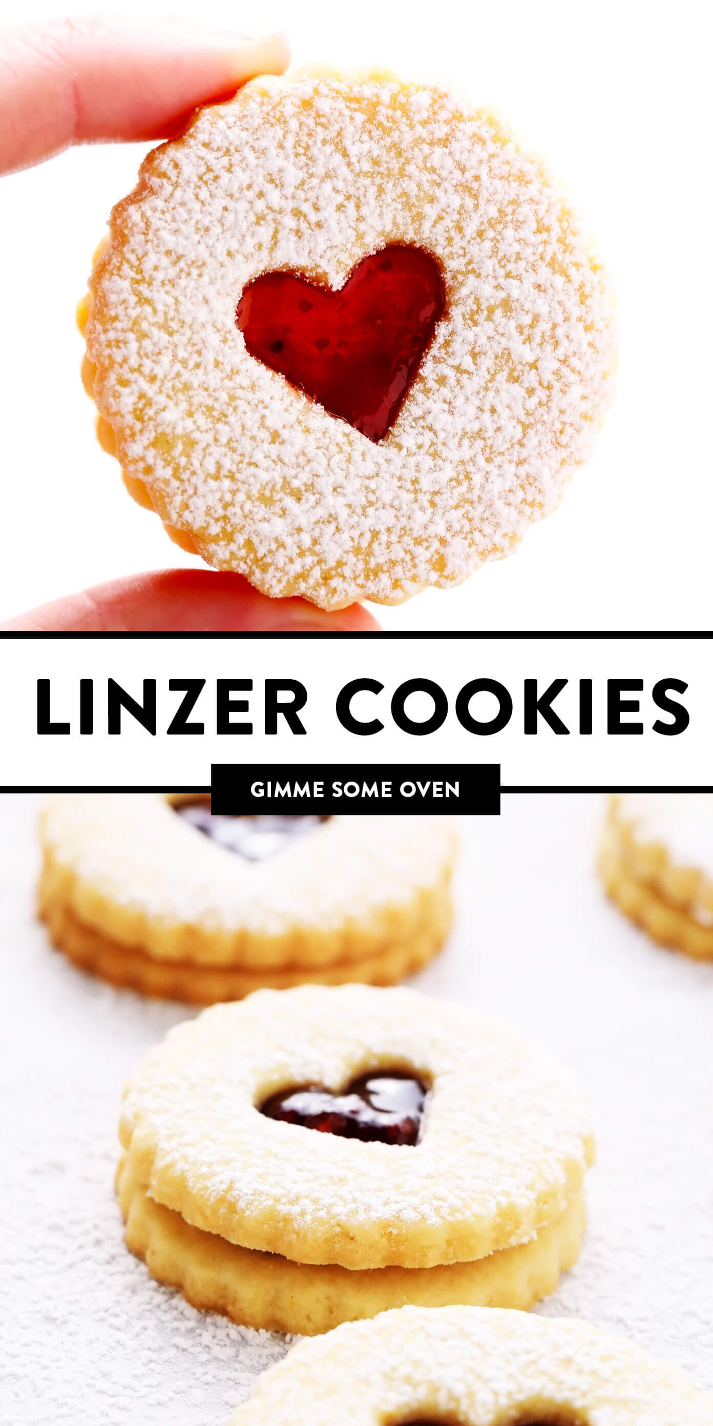 Linzer Cookies