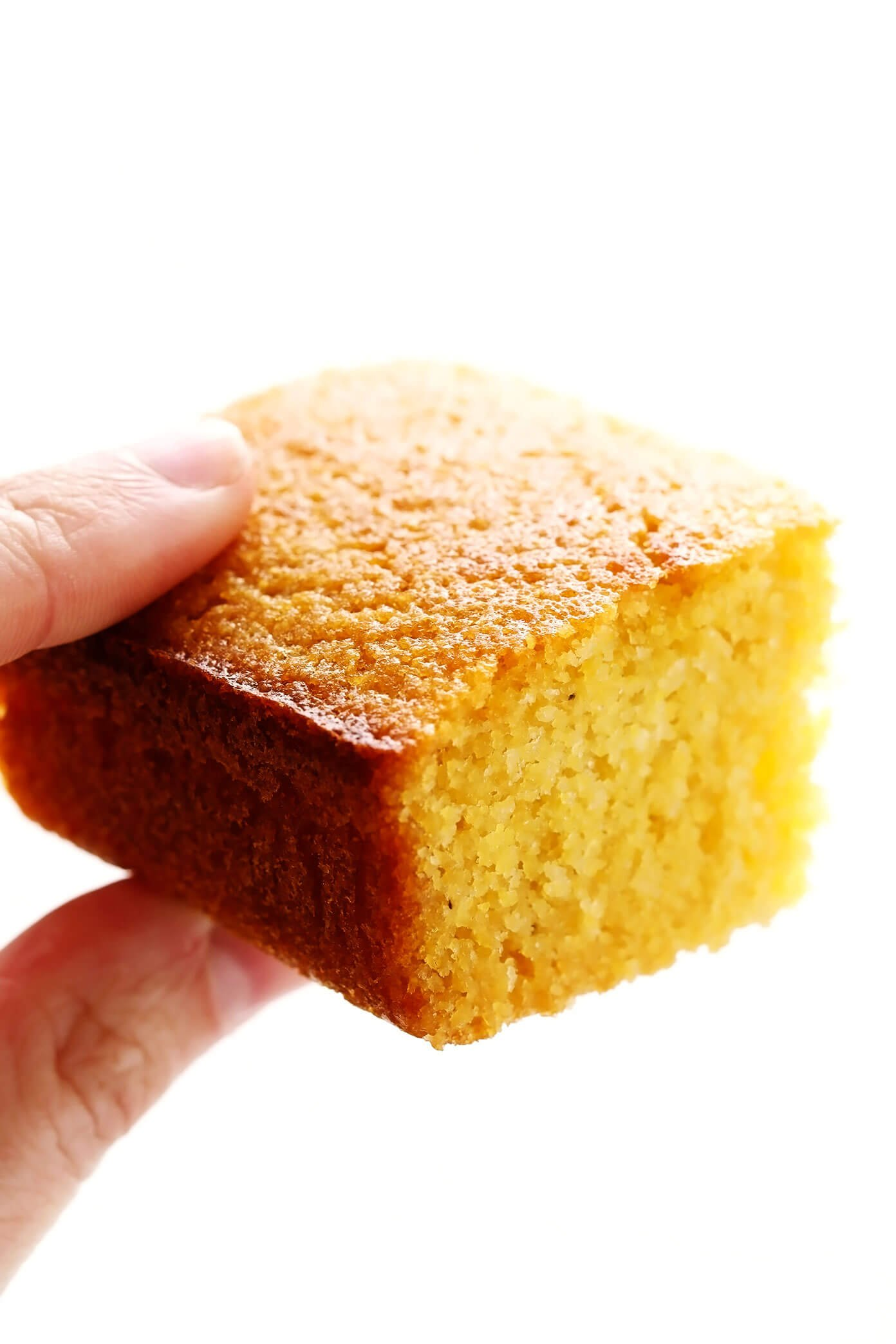 Buttermilk Cornbread Closeup