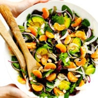 Orange, Fennel and Avocado Salad