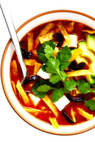 Sopa Azteca (Mexican Tortilla Soup) Recipe