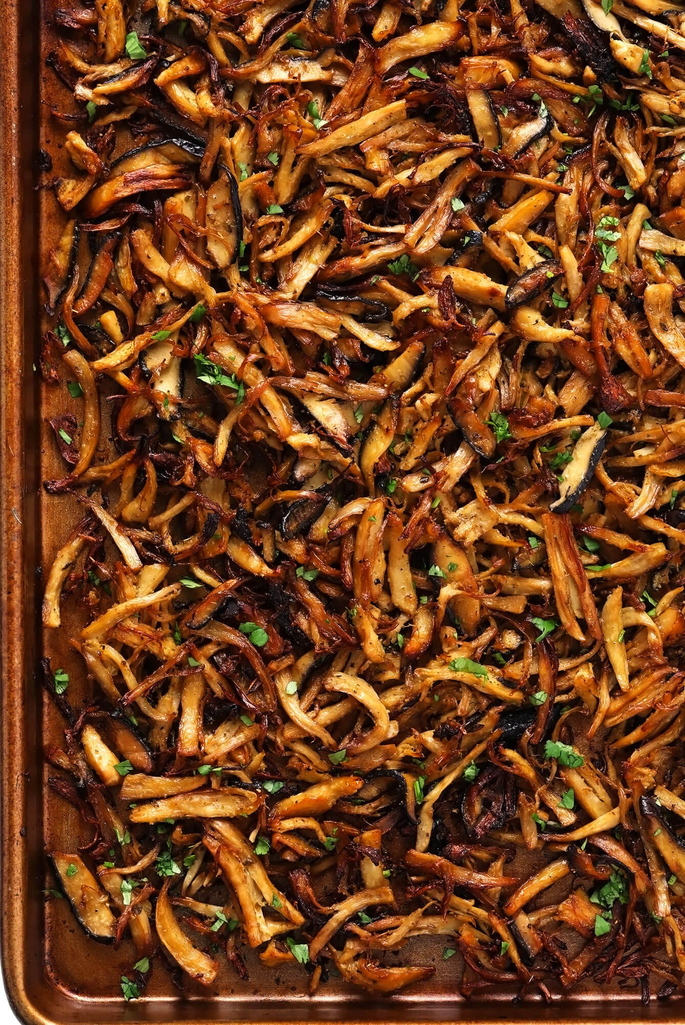 Carnitas de Cogumelo em Panela