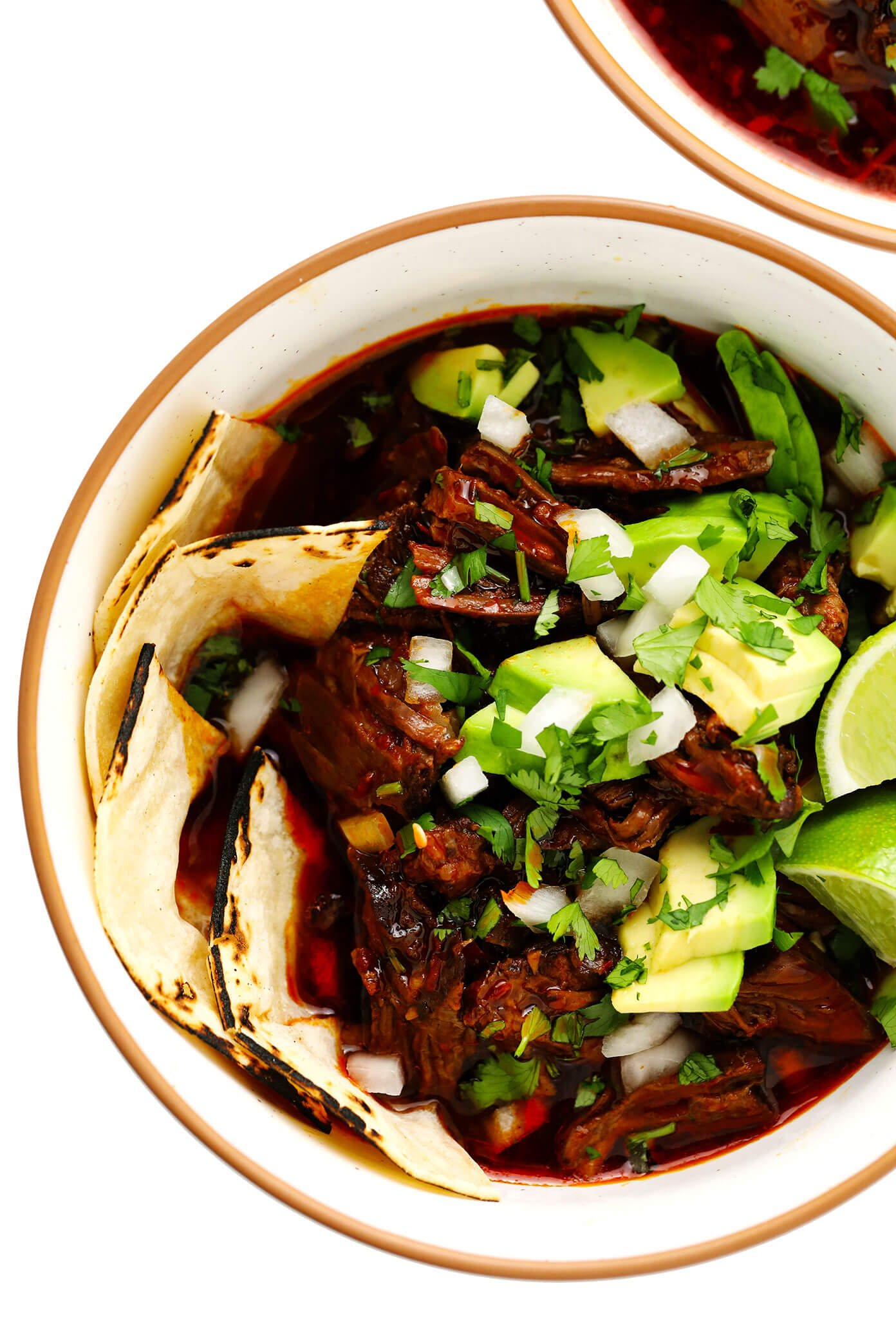 Birria Beef Stew in Bowls