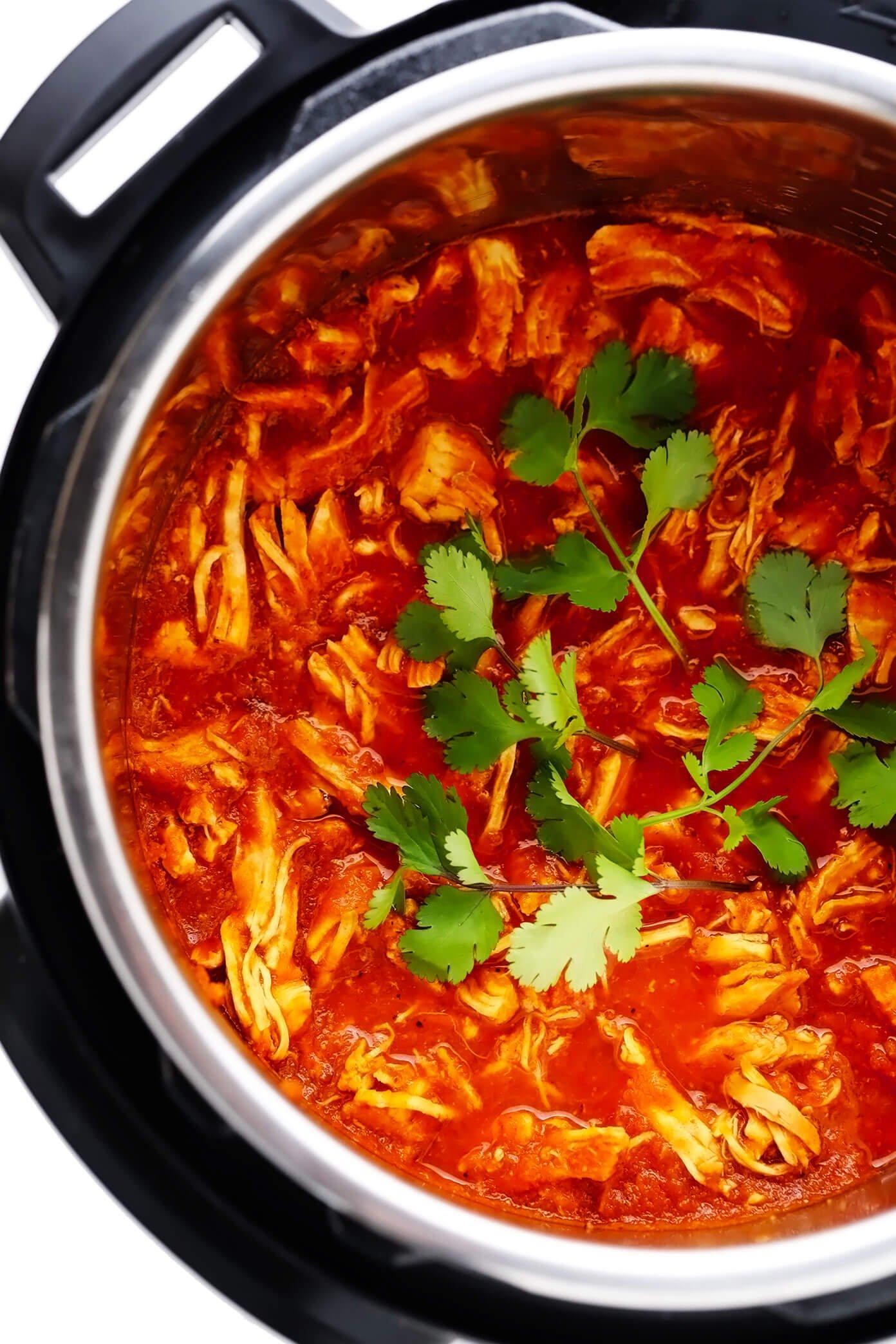 Instant Pot Chicken Tinga